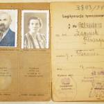 Legitymacja ubezpieczeniowa rodziców p.Krystyny - 1948r.