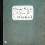 Dziennik szkolny kl. IIIa I LO na rok szkolny 1946-47