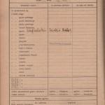 Karta ocen z dziennika szkolnego p.Marii